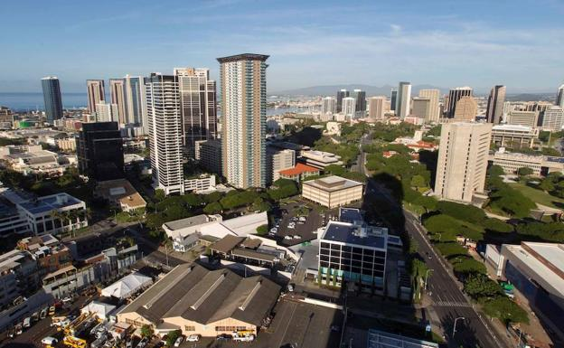 Vista de Honolulu. /Eugene Tanner (Afp)