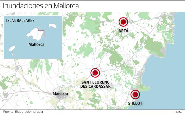 Los vídeos más dramáticos de las inundaciones de Mallorca