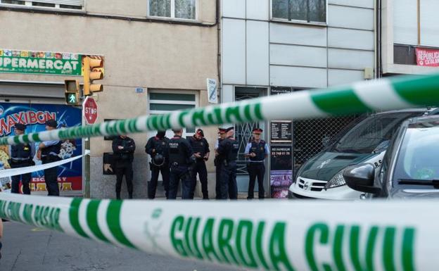 Detenidos nueve independentistas acusados de planear actos con explosivos