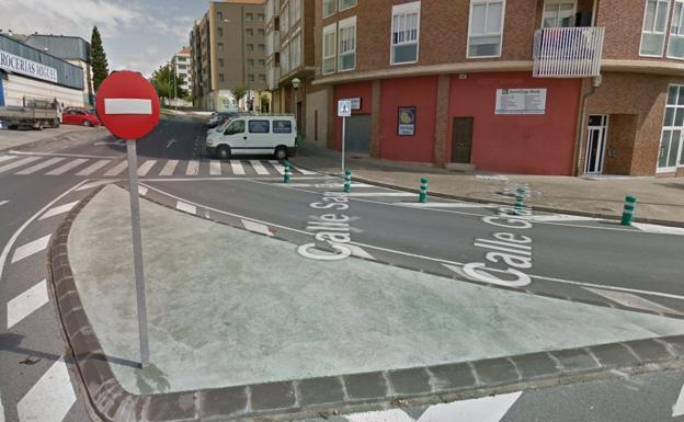 Zona del accidente de moto de Logroño/Google Maps