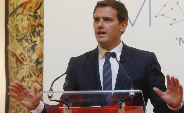 Albert Rivera./