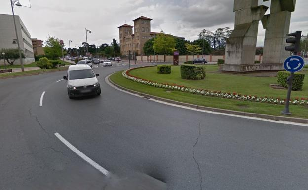 Rotonda del accidente./Google Maps