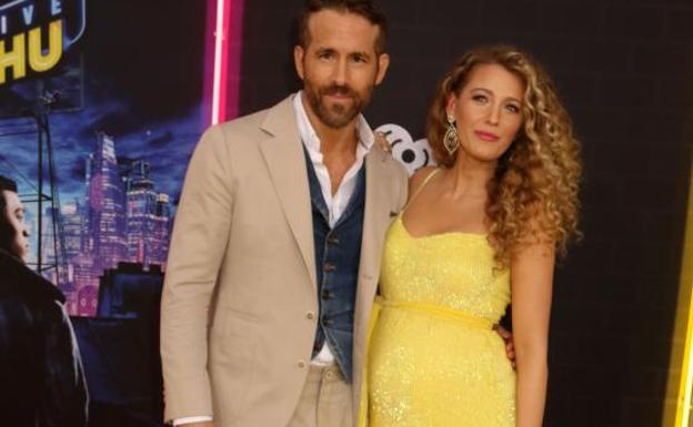 Ryan Reynolds y Blake Lively. /