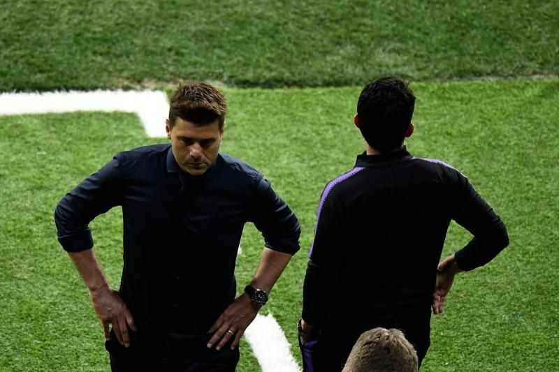 Mauricio Pochettino, durante la final de Champions League./Afp