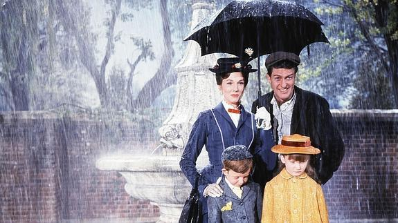 Escena de 'Mary Poppins'.